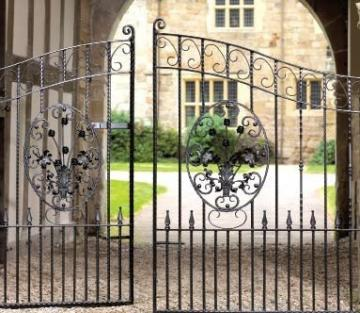 Example metal garden gates