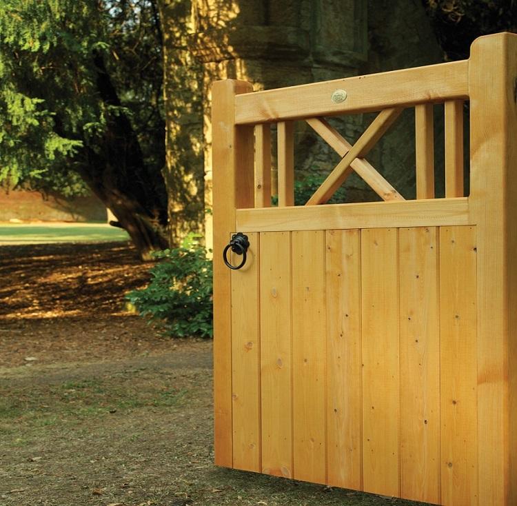 Buxton wooden garden gate design