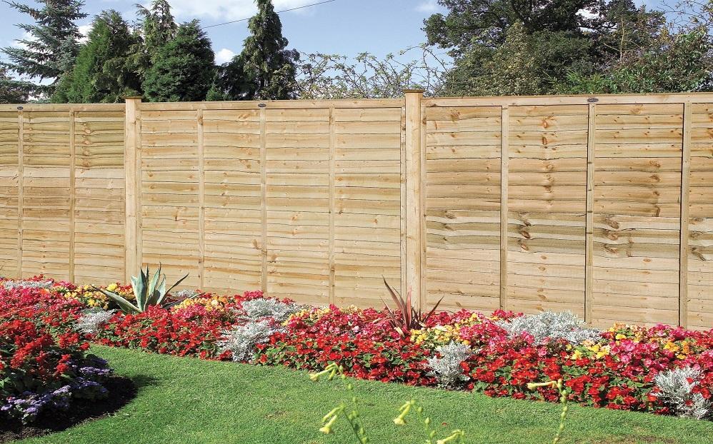 Grange Professional Lap Fence Panels