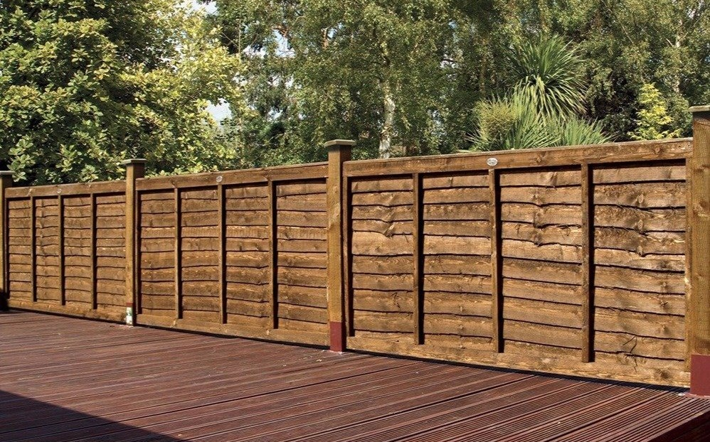 Grange Weston Professional Lap 6ft x 4ft Wooden Fence Panels