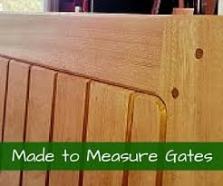 Made to Measure Double Wooden Gate Designs
