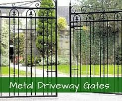 View our range of double metal driveway gates