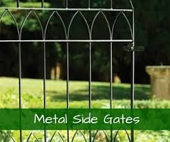 View our range of metal side gates for sale