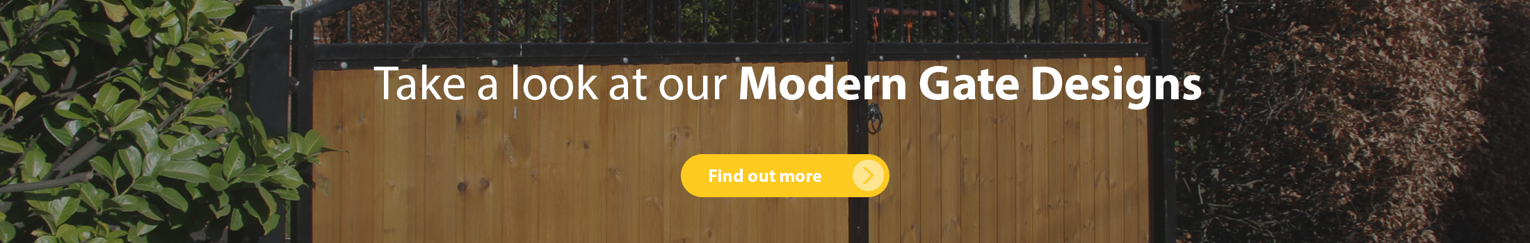Take a look at our modern garden gate designs