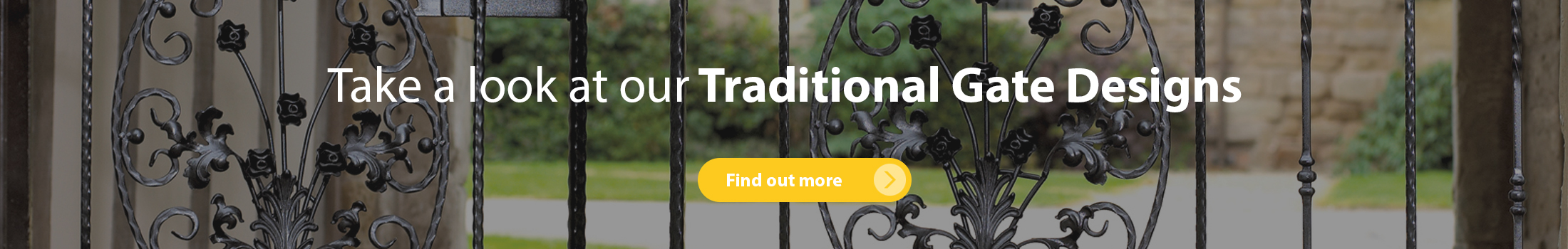Take a look at our traditional garden gate designs