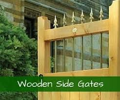 Take a look at our range of wooden side garden gates for sale online