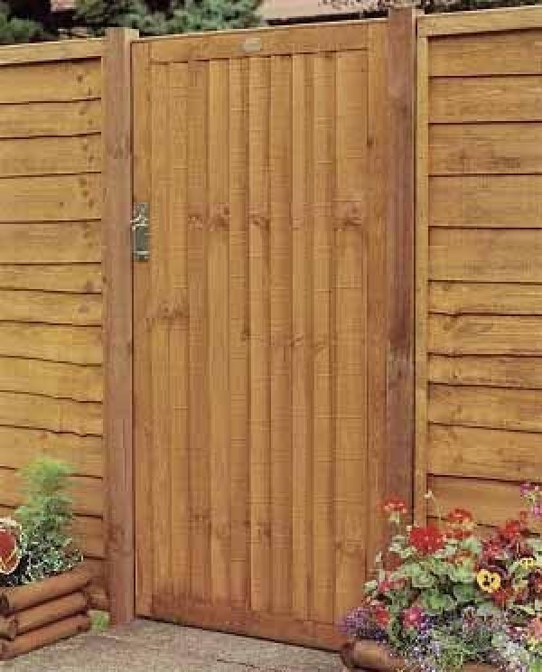 Closeboard Wooden Side Gate Buy Closeboard Wooden Side