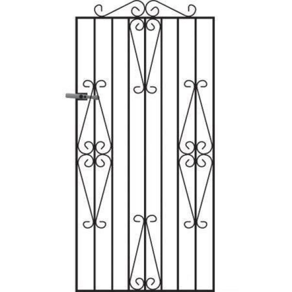 Winchester Tall Metal Side Gate