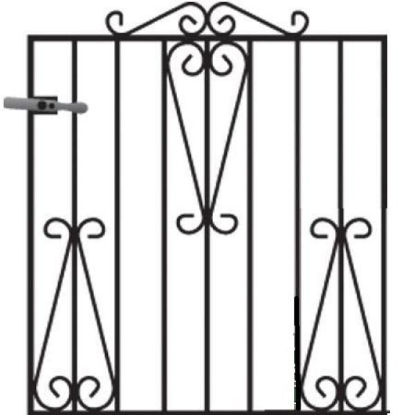 Winchester Metal Garden Gate