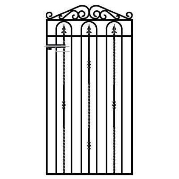 Windsor Tall Metal Side Gate