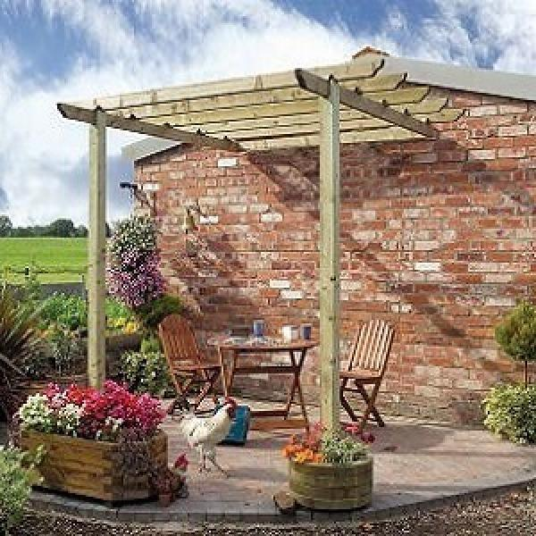 Traditional Wooden Patio Pergola