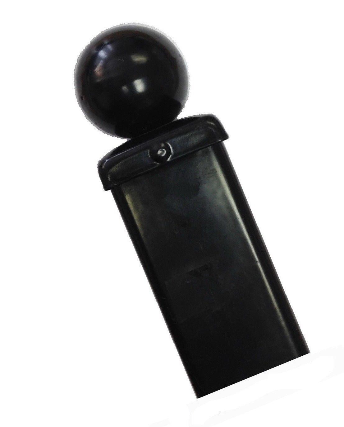 Ball Top Square Metal Post - BP50x1400B