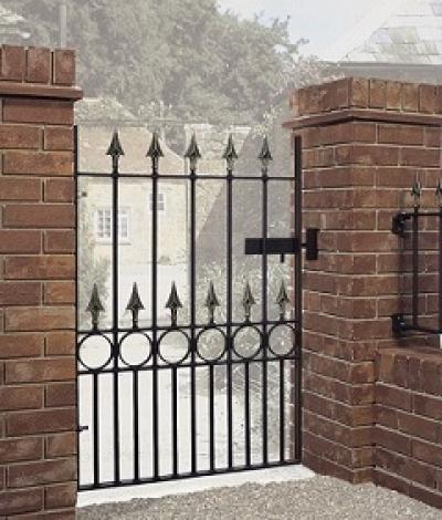 Balmoral Wrought Iron Style Garden Gate