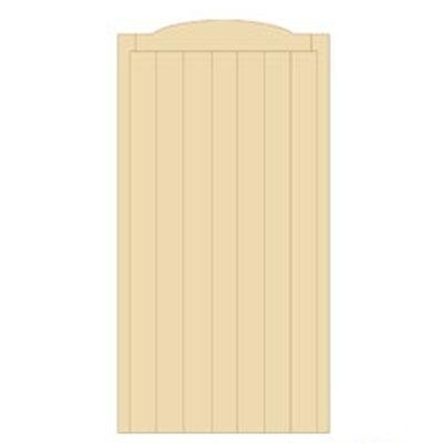 Cherbourne Tall Wooden Side Gate | 6ft High