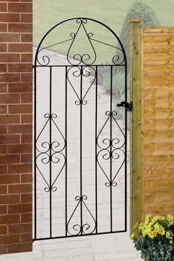 Classic Bow Top Metal Side Gate