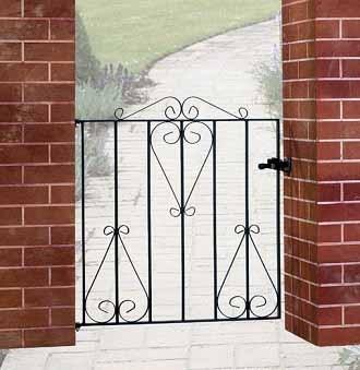 Classic Metal Garden Gate