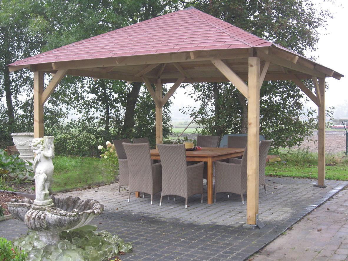 Classico Wooden Garden Gazebo | 4.3m x 4.3m