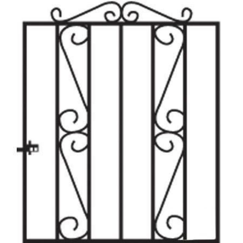 Clifton Metal Garden Gate