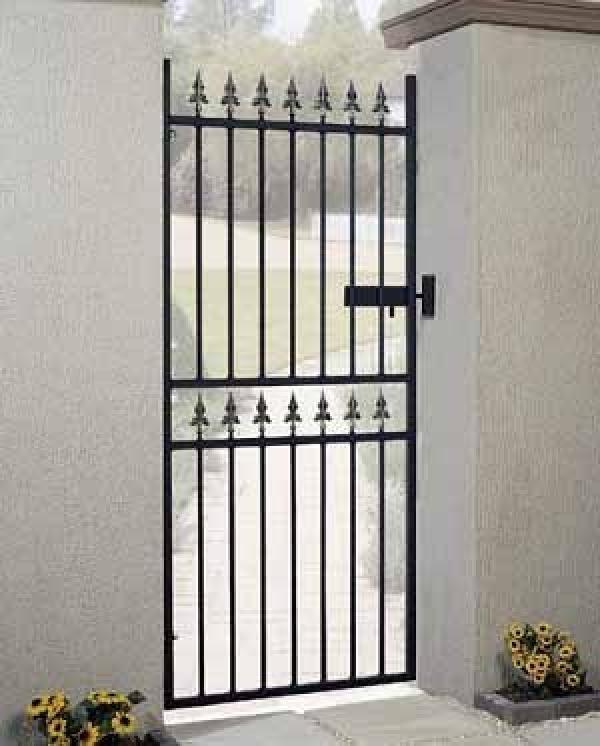 Corfe Tall Metal Side Gate