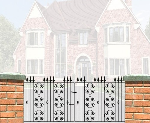 Cromwell Metal Driveway Gates - 3ft High