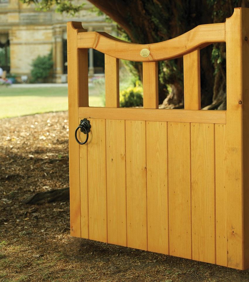 Derbyshire Wooden Garden Gate - 4ft High