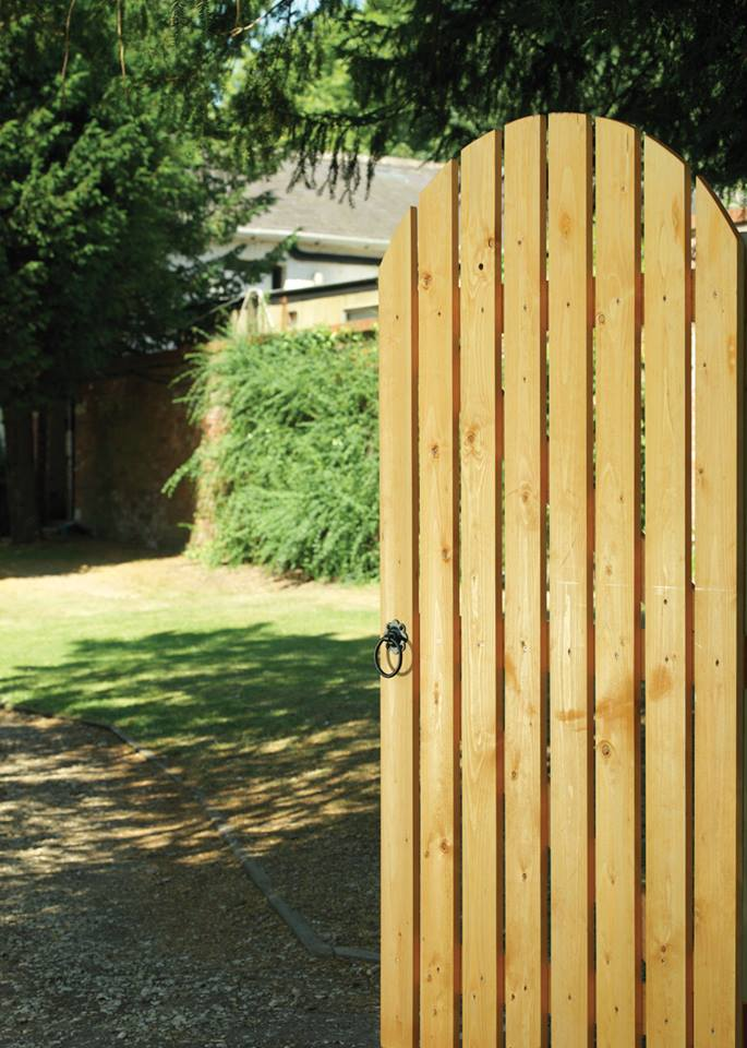 Dorset Arched Wooden Side Gate | 6ft High