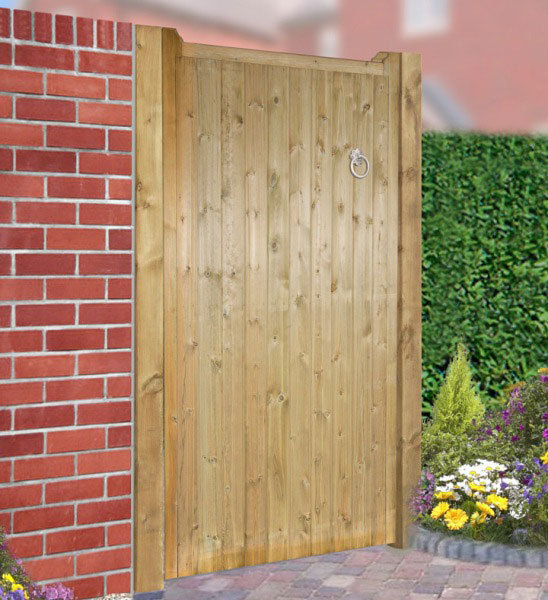 Drayton Wooden Side Gate | 1.8m High