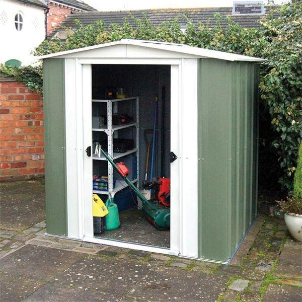 Rowlinson Apex Metal Shed 6 x 5