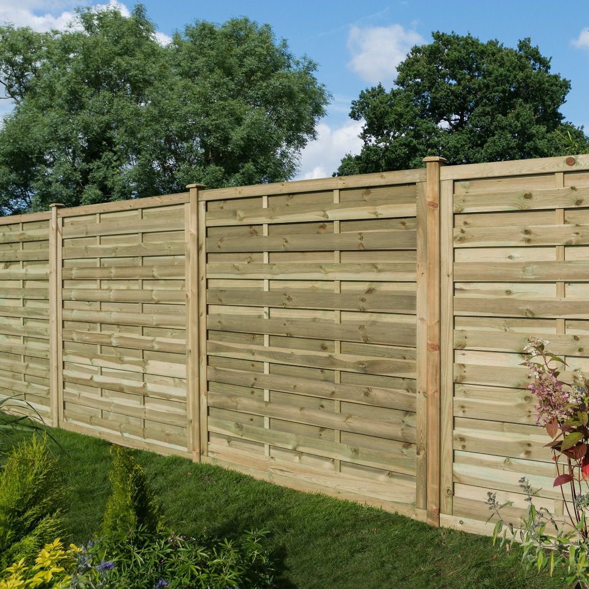 Gresty Pressure Treated Wooden Fence Panel