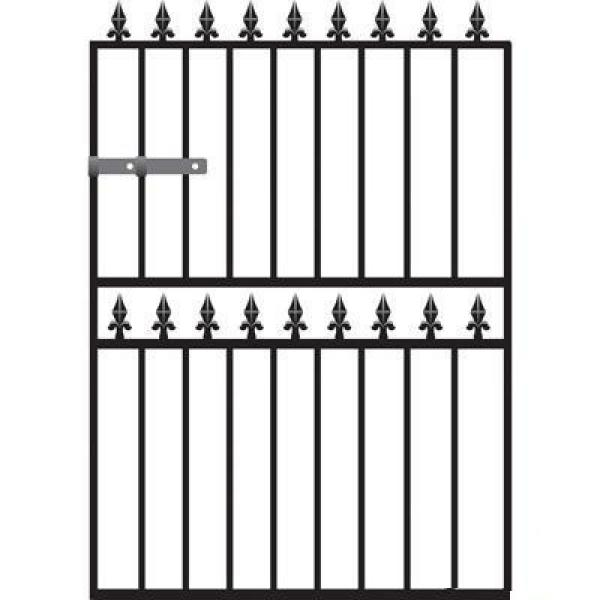 Hampton Metal Garden Gate