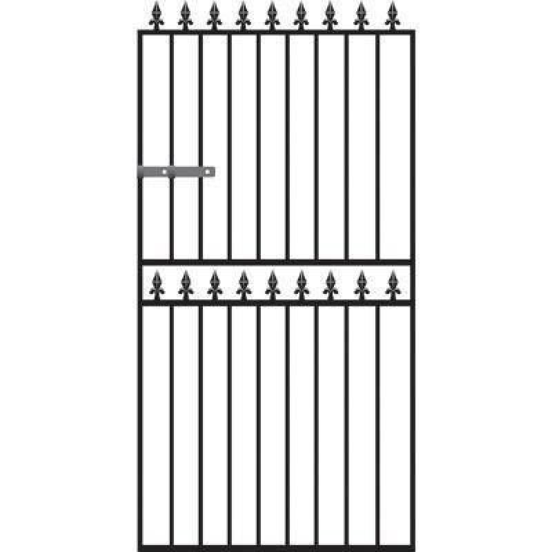 Hampton Tall Metal Side Gate