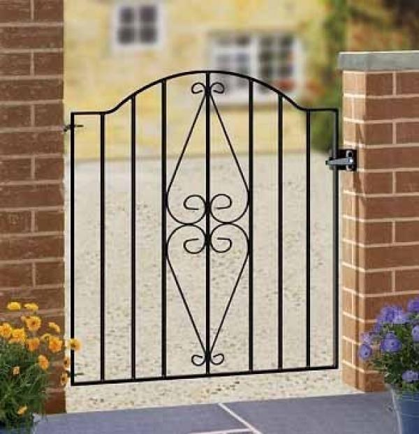 Henley Metal Garden Gate