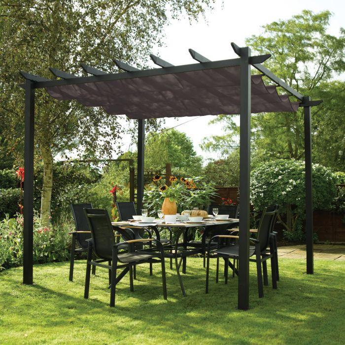 Latina Aluminium Pergola & Garden Sun Canopy