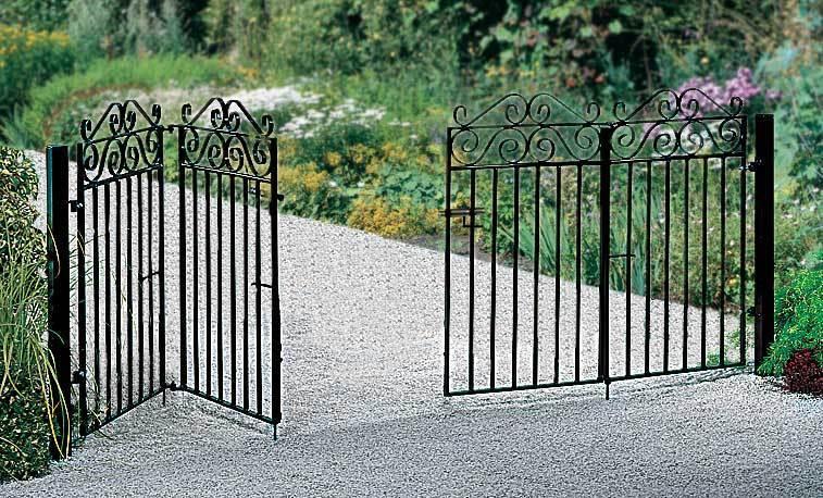 Marlborough Bi Folding Metal Driveway Gates