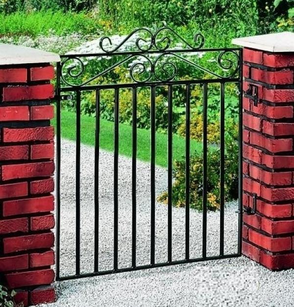 Marlborough Metal Garden Gate - 4ft High
