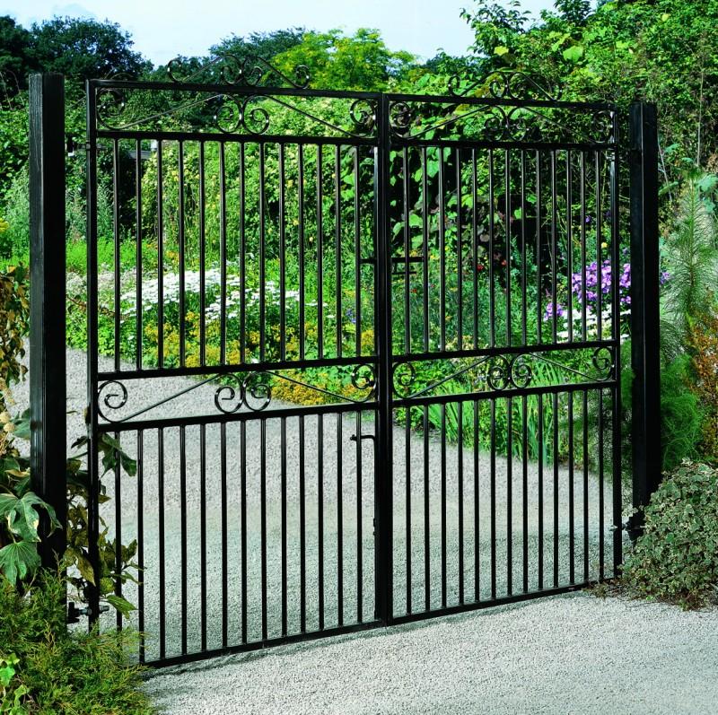 Marlborough Wrought Iron Style Estate Gates