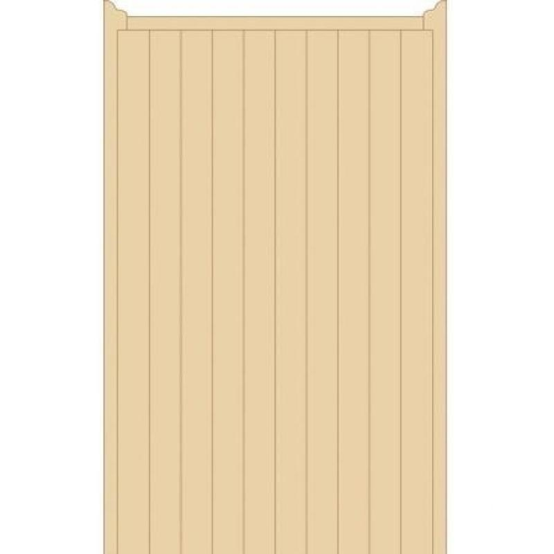 Norfolk Tall Wooden Side Gate | 6ft High