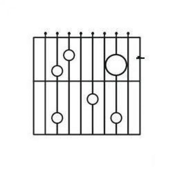 Picasso Metal Garden Gate - 4ft High
