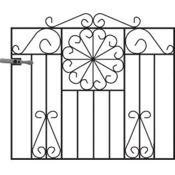 Regency Metal Garden Gate
