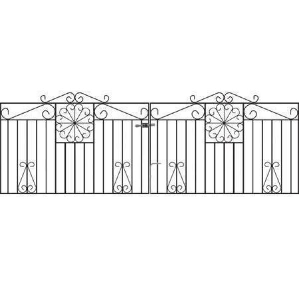 Regency Metal Driveway Gates