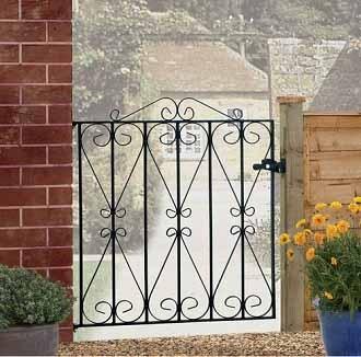Regent Metal Garden Gate