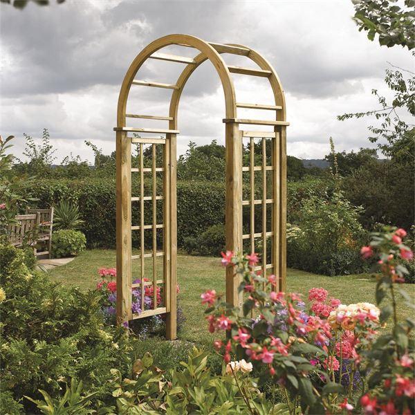 Rowlinson Round Top Garden Arch