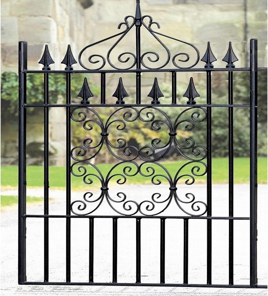 Royal Monarch Wrought Iron Style Garden Gate