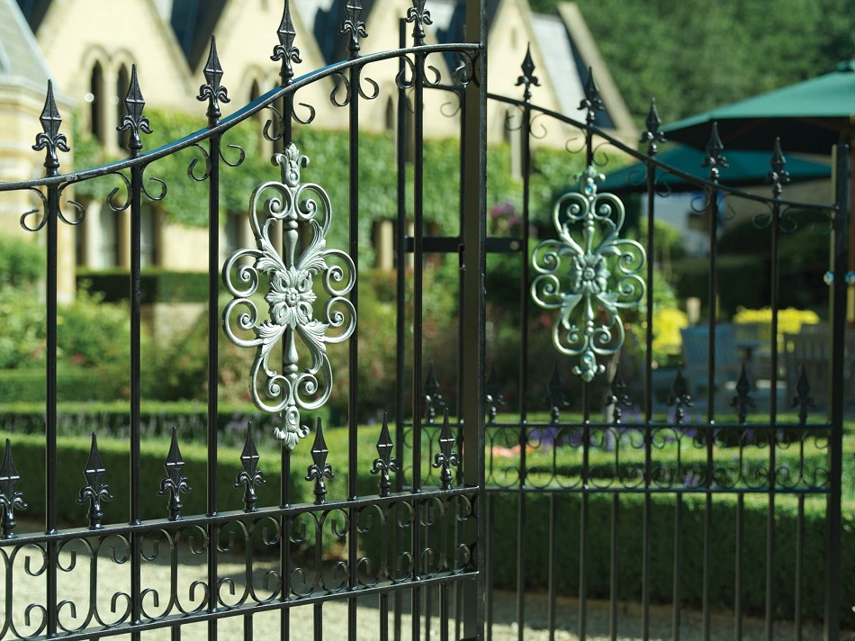 Royale Premier Wrought Iron Style Estate Gates
