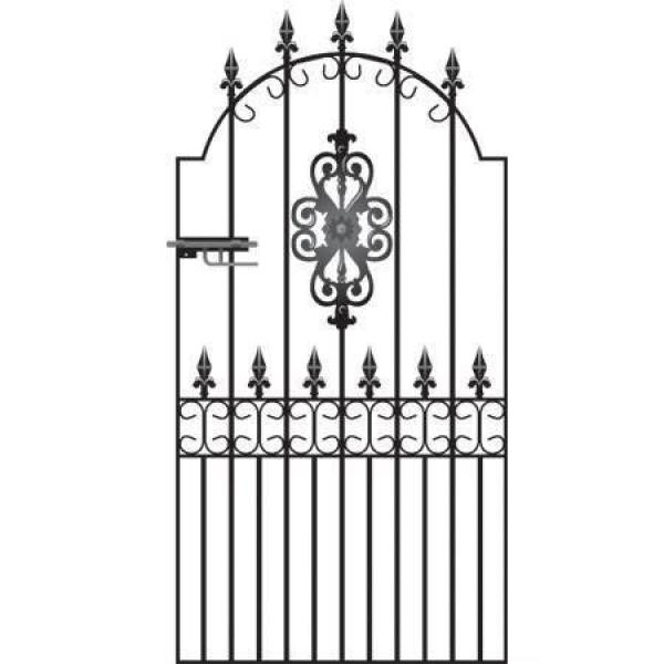 Royal Premier Wrought Iron Side Gate