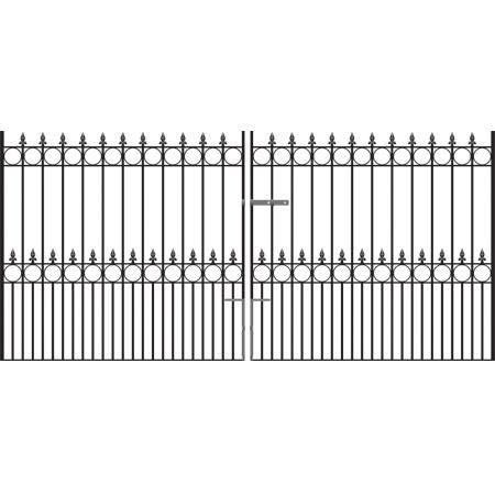 Royal Talisman Wrought Iron Style Driveway Gates