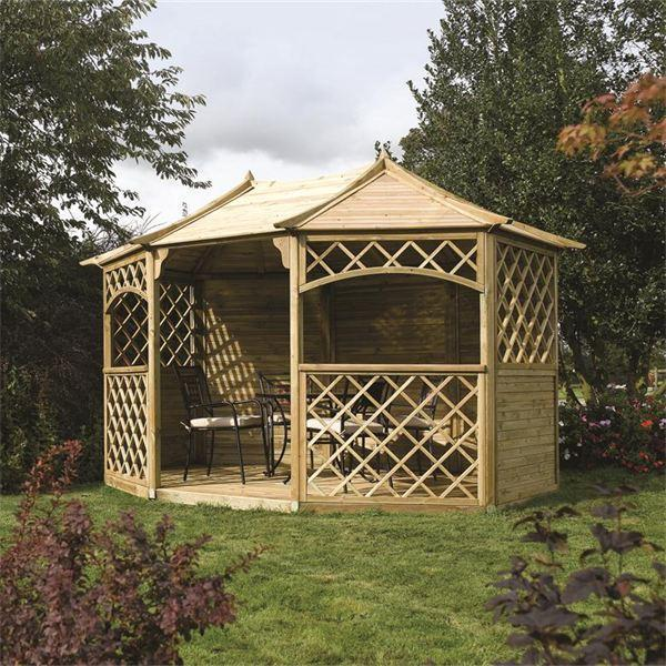 Sandringham Wooden Garden Gazebo