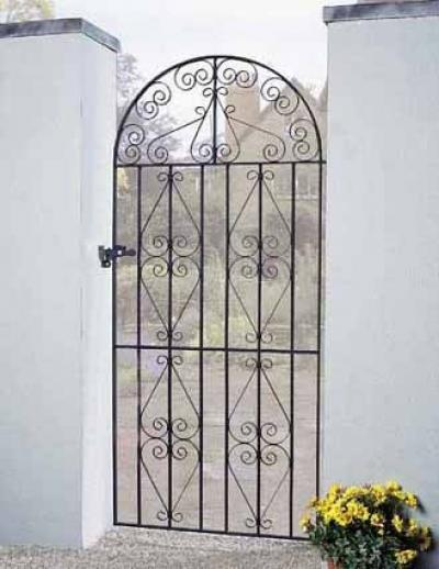Stirling Bow Top Metal Side Gate