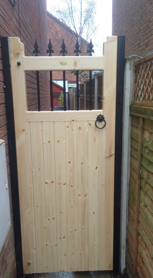 Vertifleur Wooden Side Gate 6ft High Buy Vertifleur