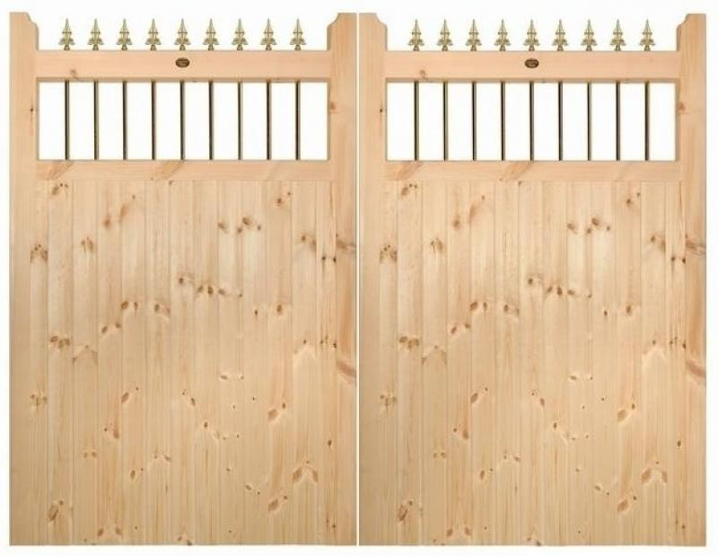 Vertifleur Wooden Estate Gates | 6ft High